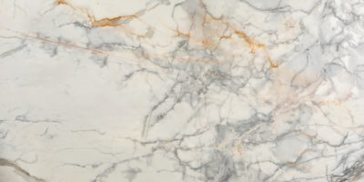 White Calacatta Carrara marble with gold veins
