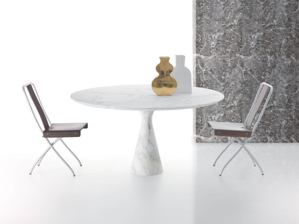 Kreoo Pedina luxury marble table and chair set