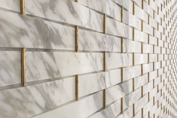 Natural stone cladding is durable and elegant