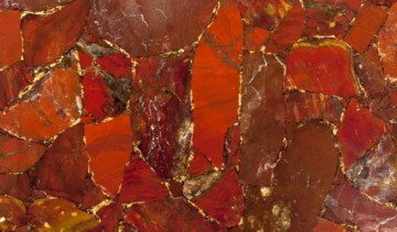 Red Jasper With Gold 3