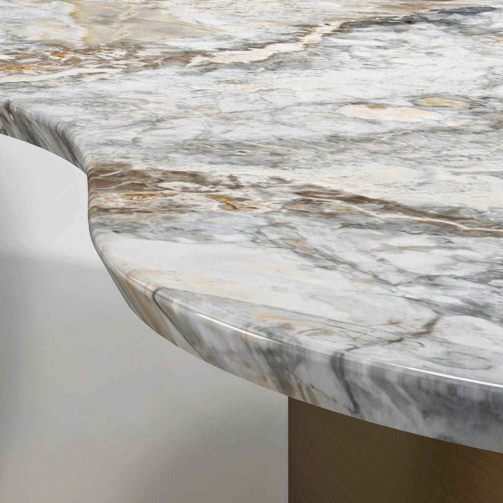 Vitality stone cocktail table